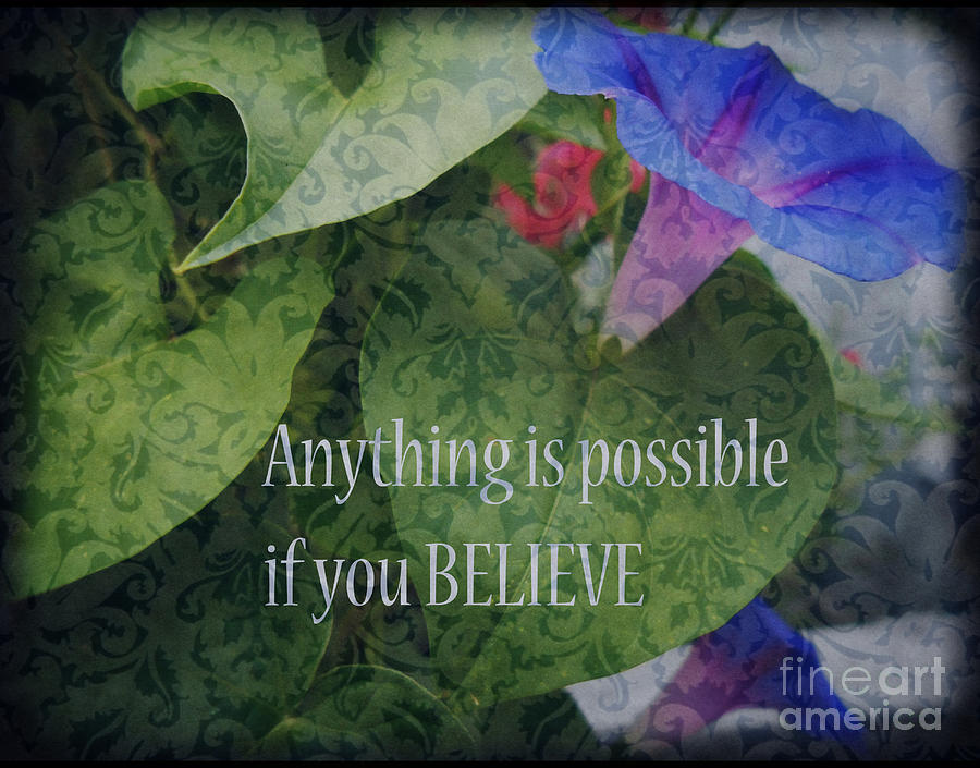 Botanical Photograph - Anything Is Possible by Eva Thomas