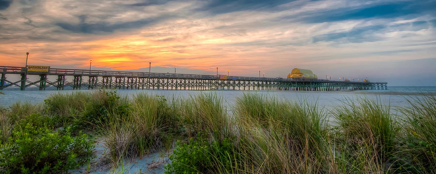 Apache Pier Panorama by At Lands End Photography