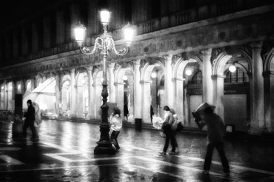 Street Photograph - Apart From Storm And Rain ... by Roswitha Schleicher-schwarz