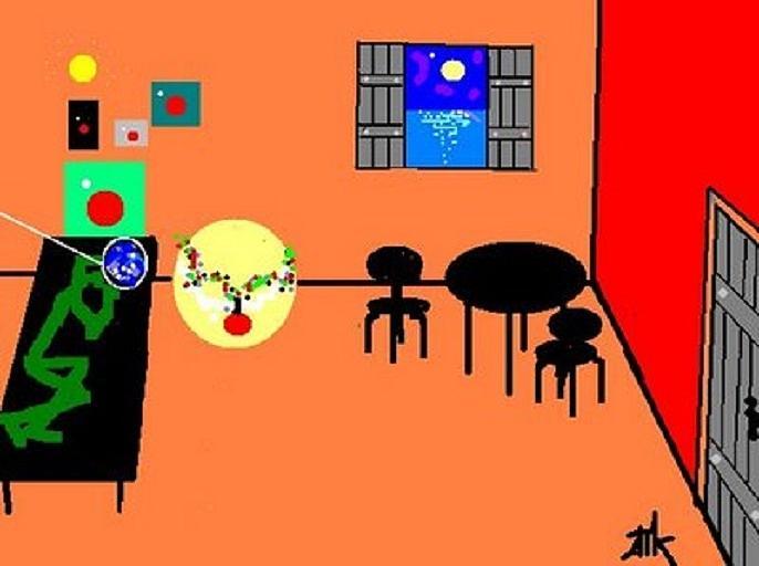 Alien Digital Art - Apartment by Ann Kipp