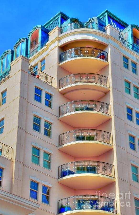 Apartment Photograph - Apartment Building by Kathleen Struckle