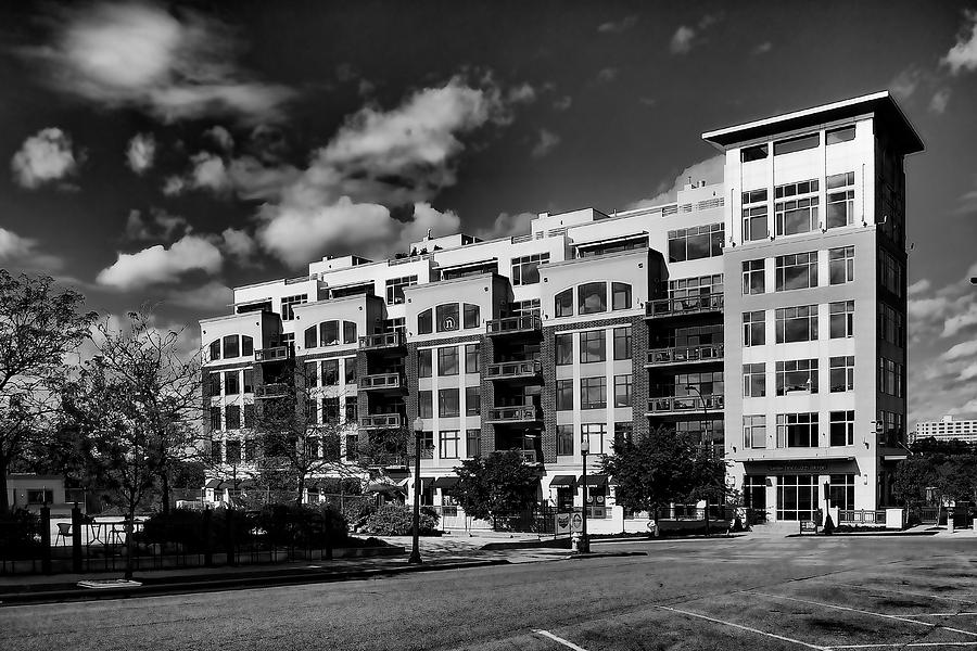 Apartment Building Photograph - Apartment In Akron by William Woide