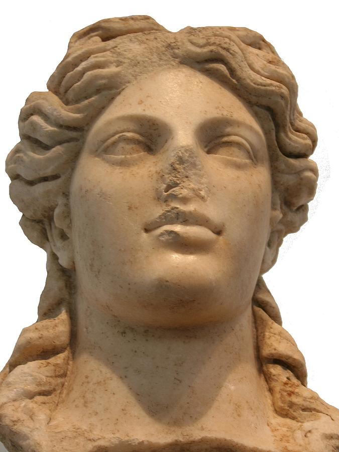 Aphrodisias Photograph - Aphrodite The Goddess Of Love And Beauty  by Tracey Harrington-Simpson