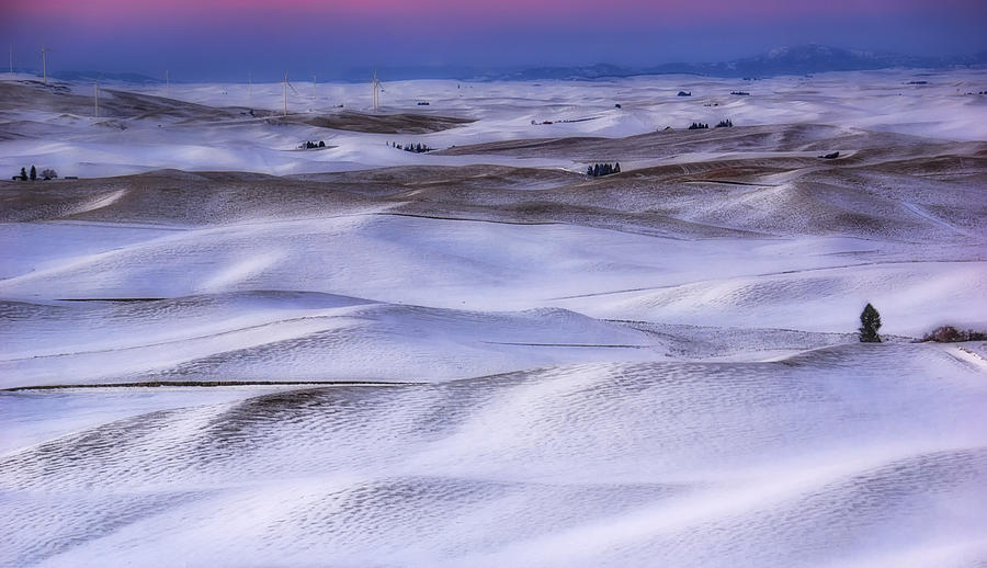Palouse Photograph - Aplenglow View by Ray Still