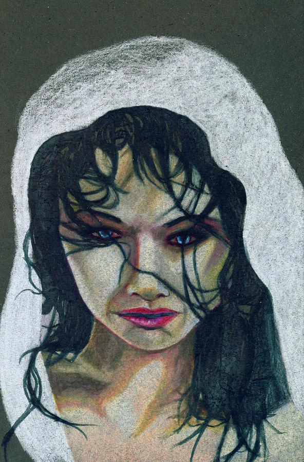 Apnea Drawing - Apnea Portrait by Kd Neeley