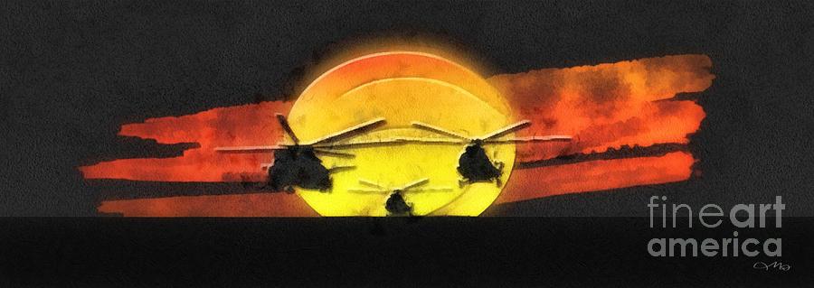 Apocalypse Now Mixed Media - Apocalypse Now by Mo T