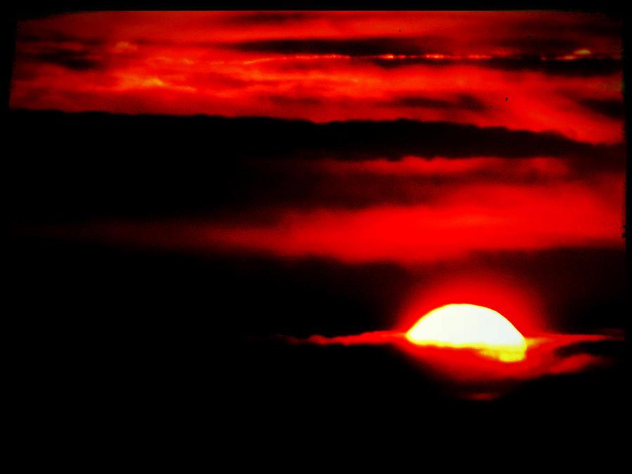 Landscape Photograph - Apocalypse Sun by Stefano Filesi