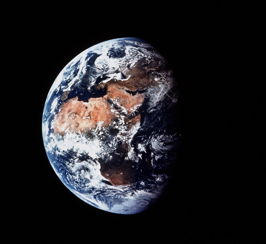 Apollo 11 Photograph - Apollo 11 Image Of The Earth by Nasa/science Photo Library