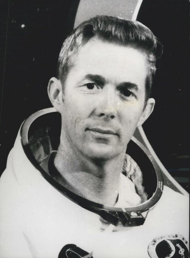 Retro Photograph - Apollo 14 Astronaut Stuart Roosa - Apollo 14 Command Module by Retro Images Archive