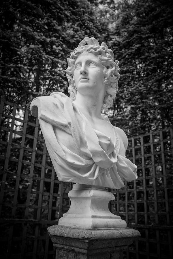 Versailles Photograph - Apollo In Versailles by Maria Fossler