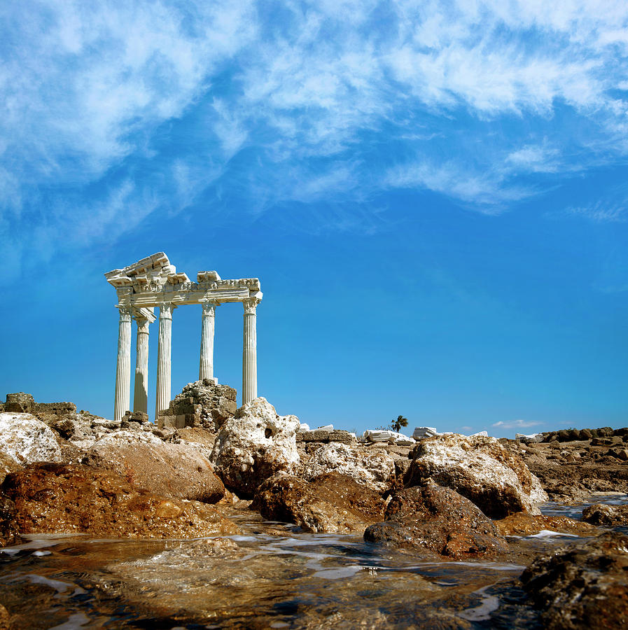 Apollo Temple Photograph by Barcin