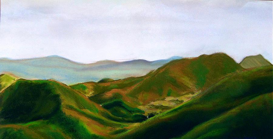 Appalachian Trail Drawing - Appalachian trail by Myke  Irving