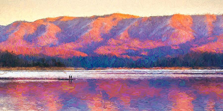 Appalachia Photograph - Appalachian Winter Sunset by Greg  Booher