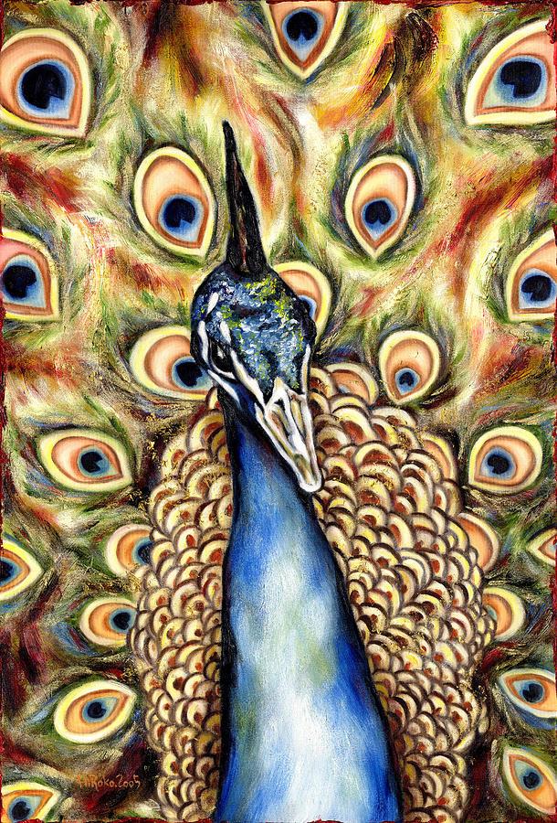 Bird Painting - Applause by Hiroko Sakai