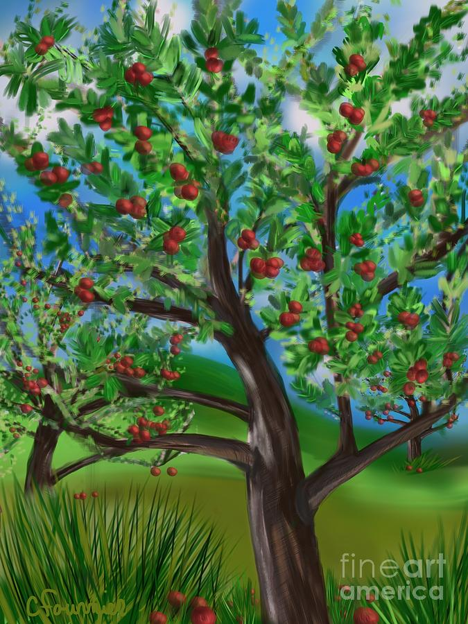 Apple Acres Digital Art