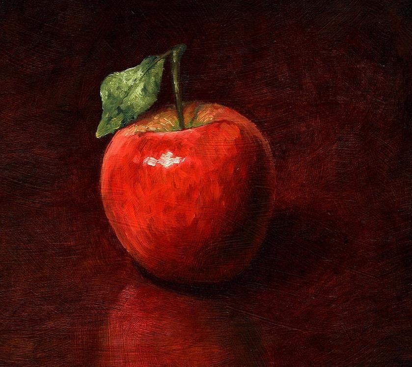 картинки живопись яблоко разбираемся, как