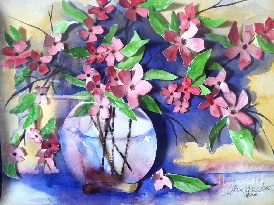 Orchards Painting - Apple Blossoms by Sherry Harradence