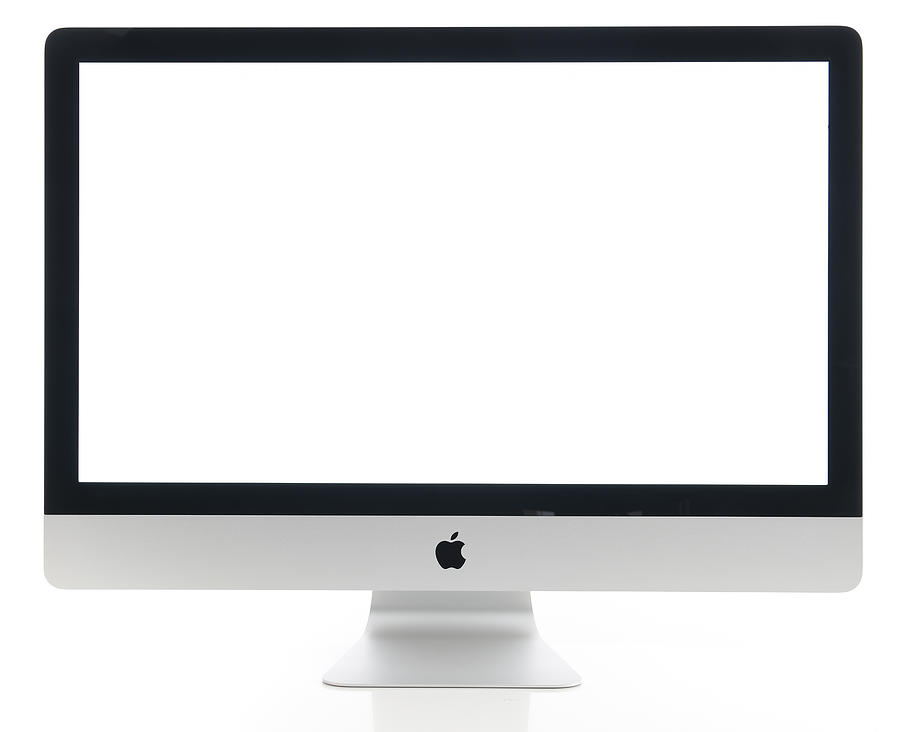 Apple Imac 27 Inch Desktop Computer Photograph by Hocus-focus