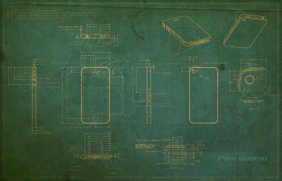 Delightful Antique Blueprints For Sale #7: Sweet Inspiration ...