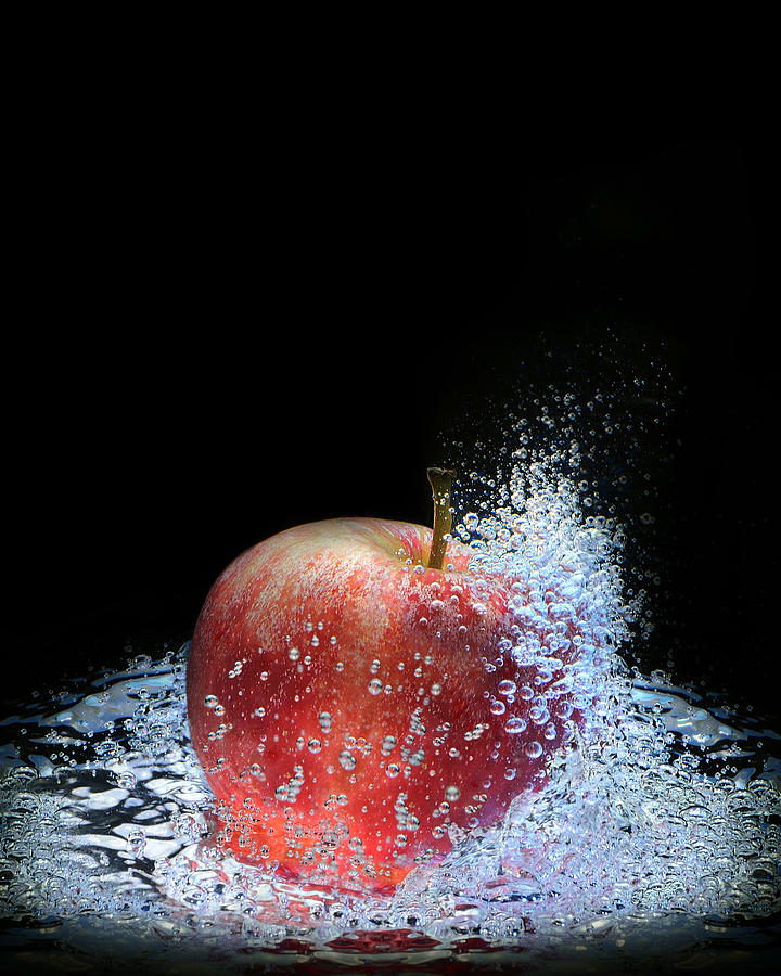 Artist Photograph - Apple by Krasimir Tolev