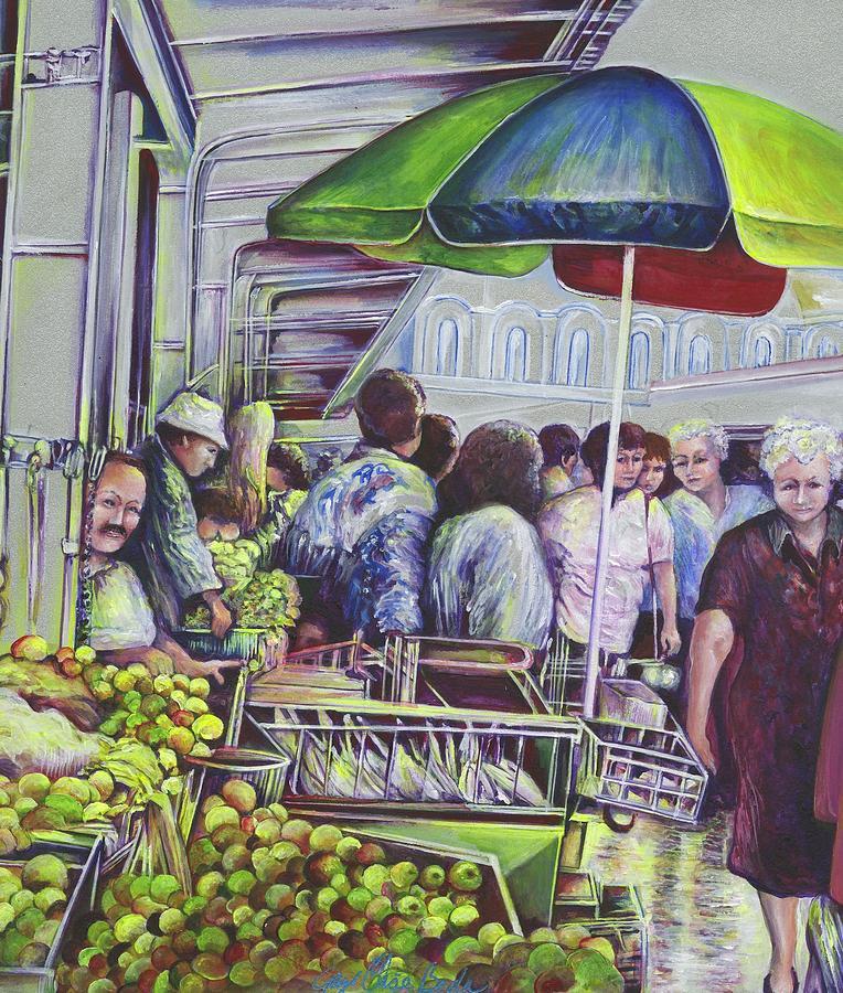 Gaye Elise Beda Painting - Apple Pie Requires Apples Hungary by Gaye Elise Beda