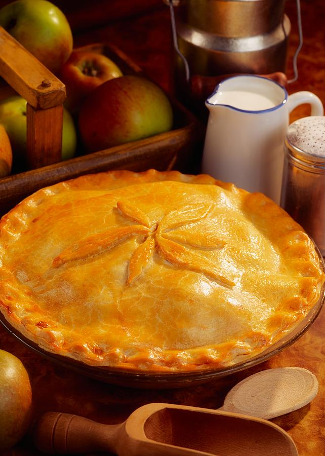 Pie Photograph - Apple Pie by The Irish Image Collection