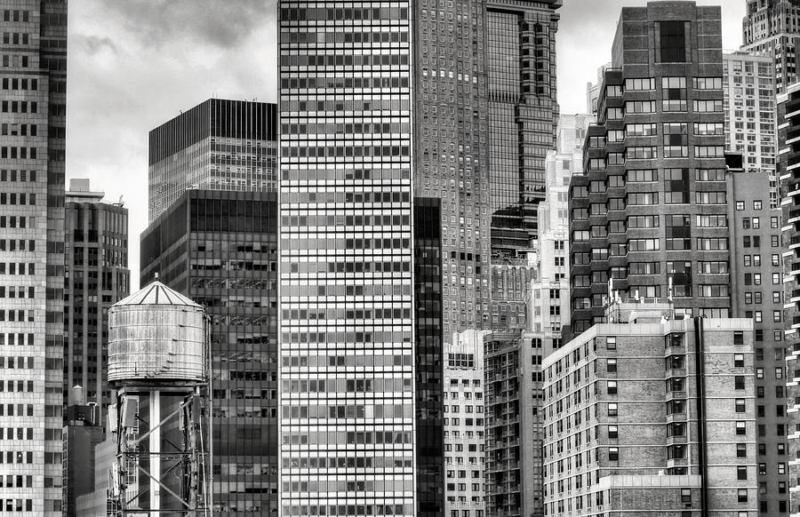 New York City Photograph - Apple Slices Bw by JC Findley