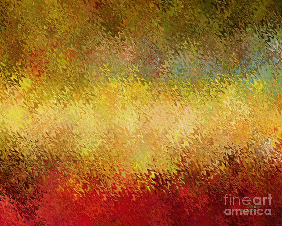 Abstract Painting - Apple Spice by David K Small
