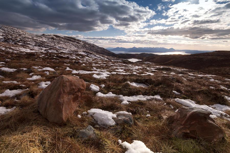 Scotland Photograph - Applecross Pass by Karl Normington