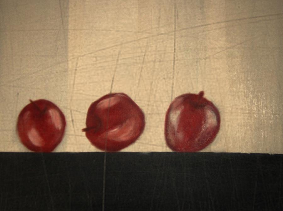 Still Life Mixed Media - Apples for Gayle by Joseph Ferguson