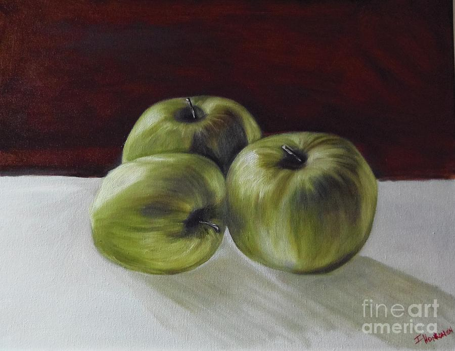 Apples Painting - Apples by Isabel Honkonen