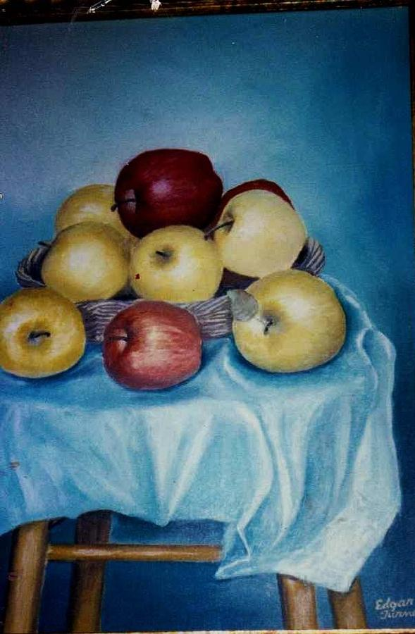 Fruit Painting - Apples  Nice And Fresh by Anne-Elizabeth Whiteway