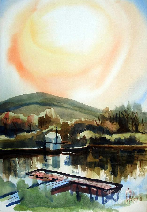 Approaching Dusk I Painting - Approaching Dusk I by Kip DeVore