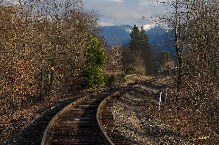 Approach Photograph - Approaching Grants Pass 1 by Mick Anderson