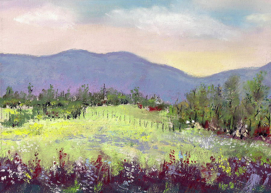 Pastel Painting - Approaching Home by David Patterson