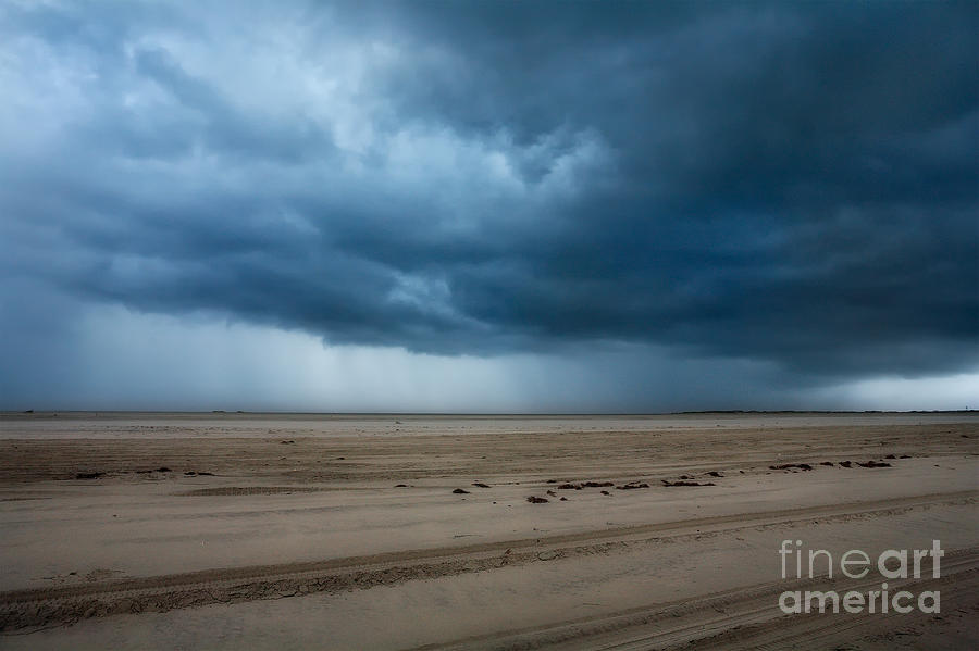 North Carolina Photograph - Approaching Storm - Outer Banks by Dan Carmichael