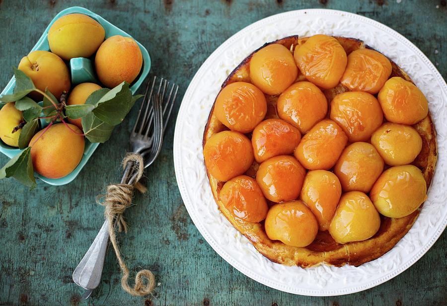 Apricot Tart Taten Photograph by Julia Khusainova
