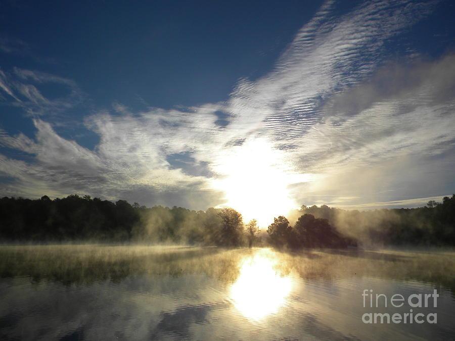 Clouds Digital Art - Glorious Morning by Matthew Seufer