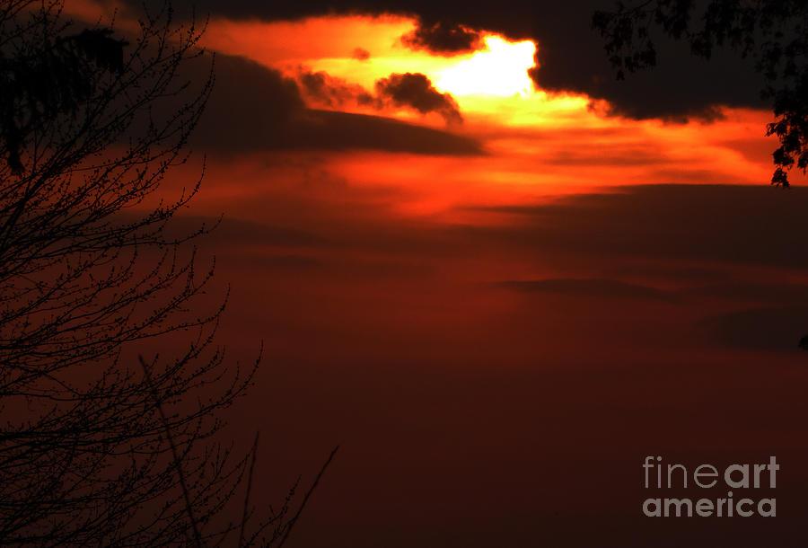 April 9 2014 Sunset Photograph