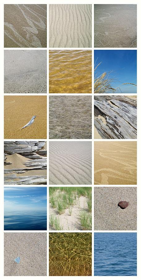 Great Lake Photograph - April Beach by Michelle Calkins