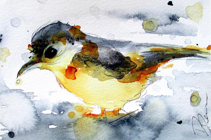 Rain Painting - April Showers by Dawn Derman