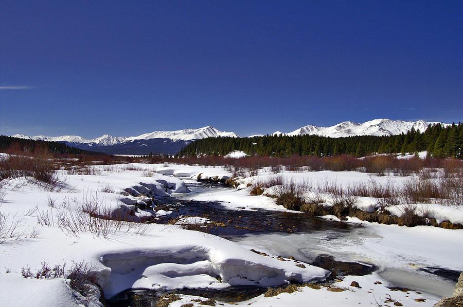 Colorado Photograph - April Thaw by Jeremy Rhoades