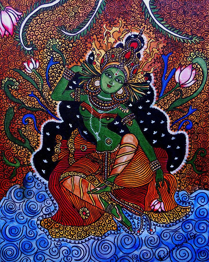 Apsara paintings fine art america apsara painting apsara by saranya haridasan thecheapjerseys Gallery