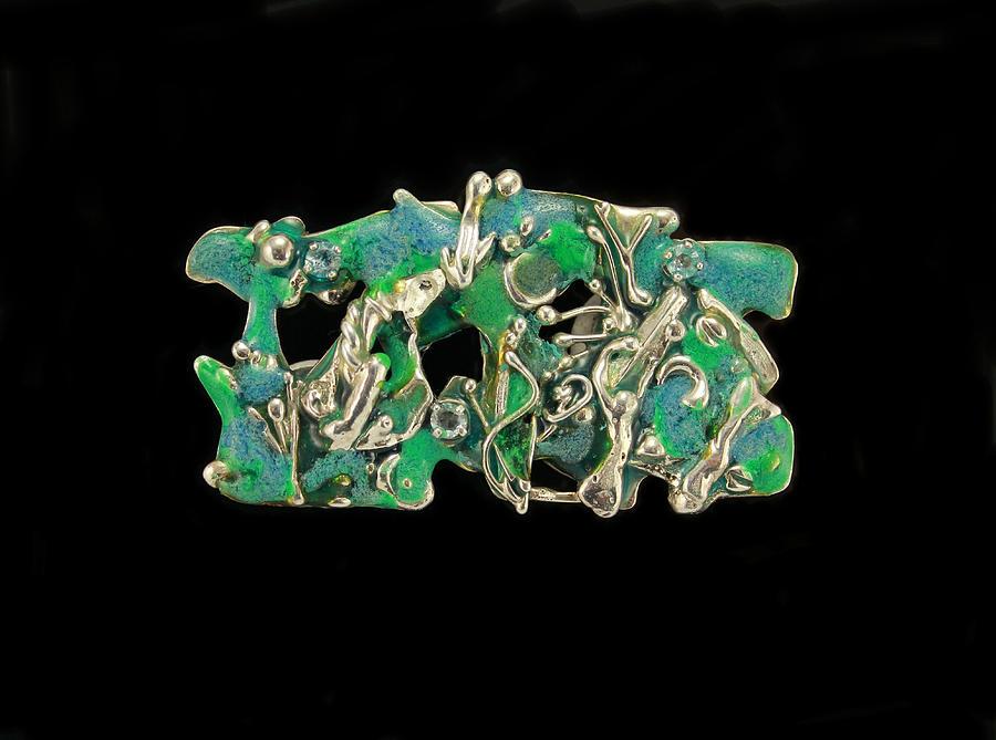 Sterling Silver Jewelry Jewelry - Aqua Reef by Laura Wilson