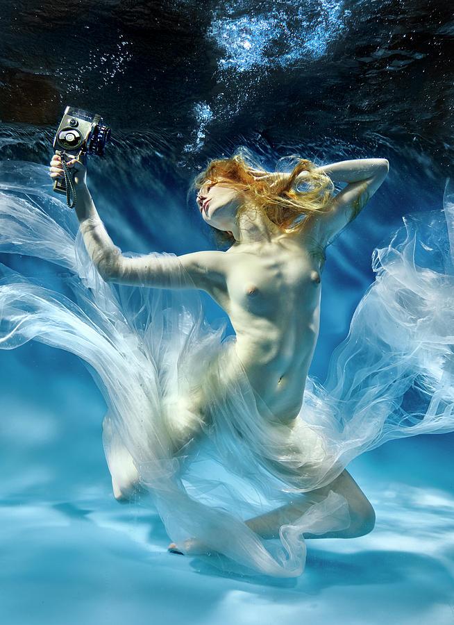 Underwater Photograph - Aqua-theatre by