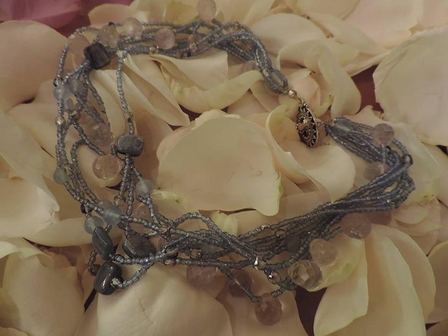 Kyanite Jewelry - Aqua Twist by Darcy Lewis