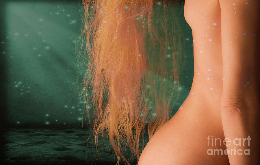 Nudes Photograph - Aquarius... by Nina Stavlund
