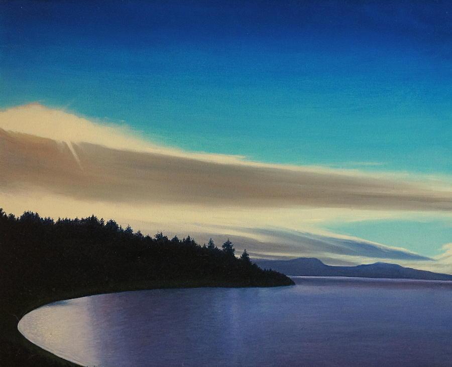 Meditation Painting - Aquatic Park by Karma Moffett