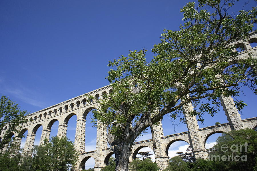 Innovation Photograph - Aqueduct De Roquefavour by Sami Sarkis