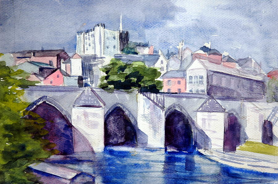 Aqueducts  Painting by Jolyn Kuhn
